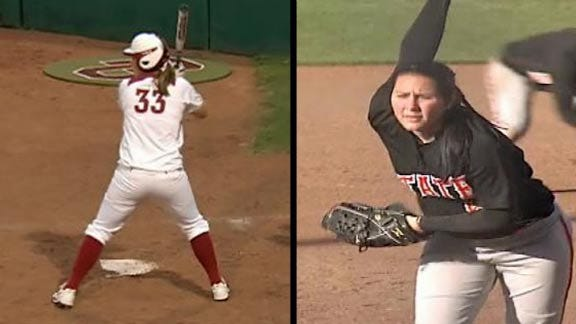 OU and OSU Softball Move Up in AP Top 25