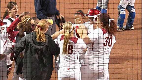 OU Softball Run-Rules Second Consecutive Opponent