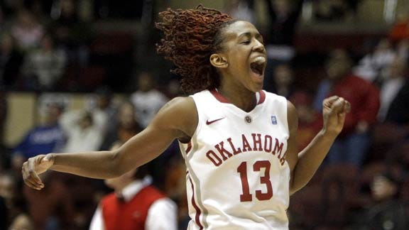 OU Women Escape With Two-Point Win over Texas Tech