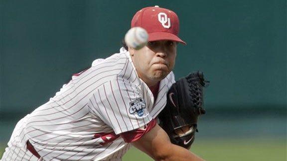 OU's Rocha Named Big 12 Pitcher of the Week