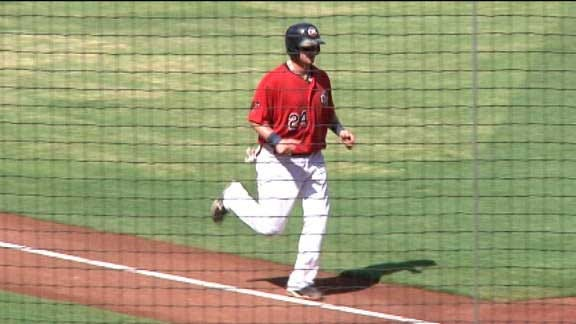 RedHawks Beat Sounds in 10th Inning with Walk-Off