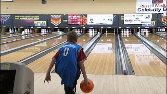 Russell Westbrook Holds Celebrity Charity Bowling Event
