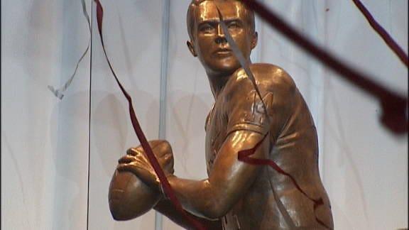 Sam Bradford Statue Unveiled Saturday