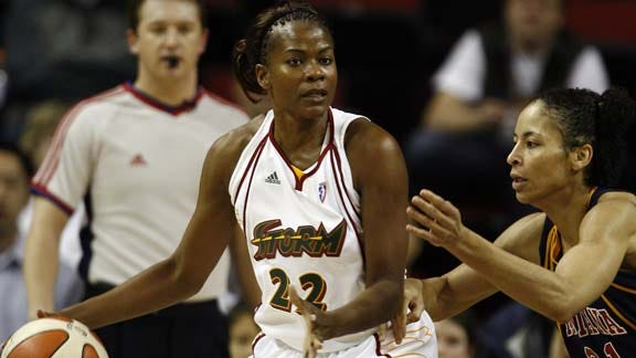 Sheryl Swoopes Signs with Tulsa Shock