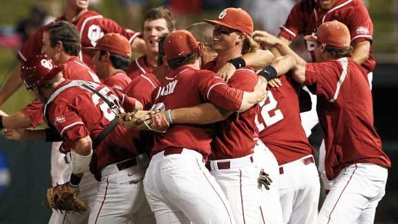 Sooner Baseball Favored to Win Big 12