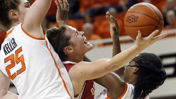 Sooners Pull Out Win in Bedlam Thriller