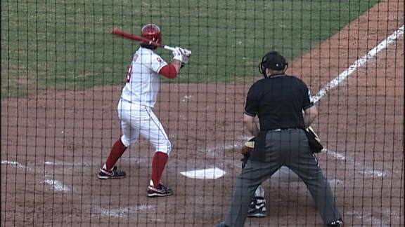 Sooners Run-Rule Golden Lions for Series Sweep