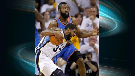 Thunder Blows Double-Digit Lead, Grizzlies Force Game 7