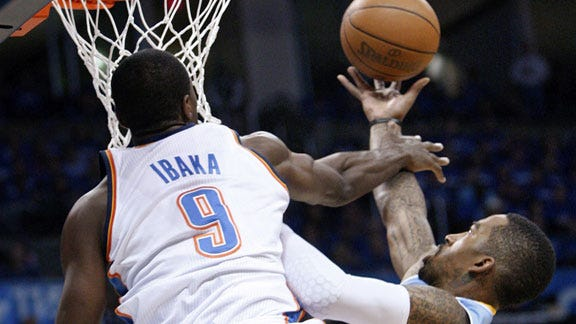 Thunder Dominates in Game Two of Opening Round