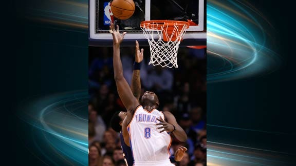 Thunder Rally Not Enough against Raptors
