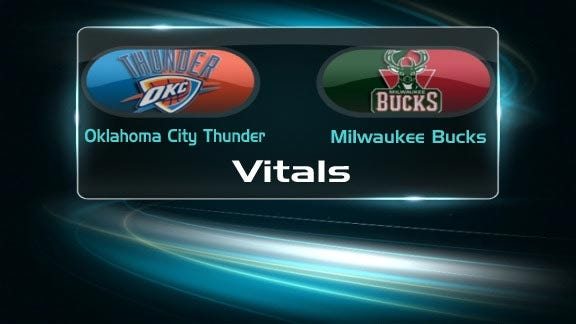 Thunder Receives No. 4 Seed after Loss