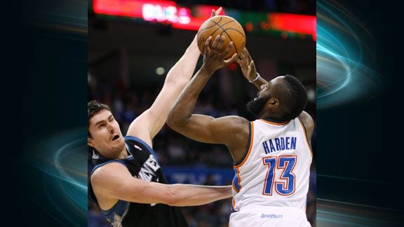 Thunder Reserves Help Build Big Lead Late