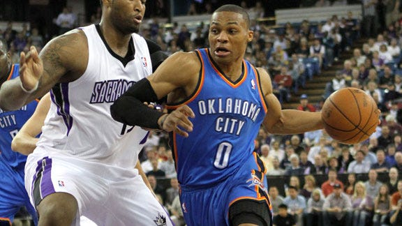 Thunder Too Much for Kings to Handle