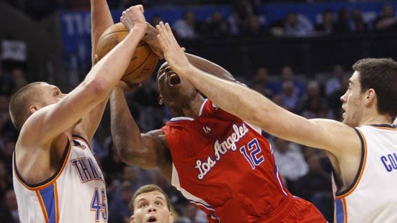 Thunder Wins Easy in Griffin's Big Homecoming