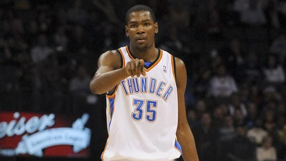 Thunder's Kevin Durant Will Play Against Hawks