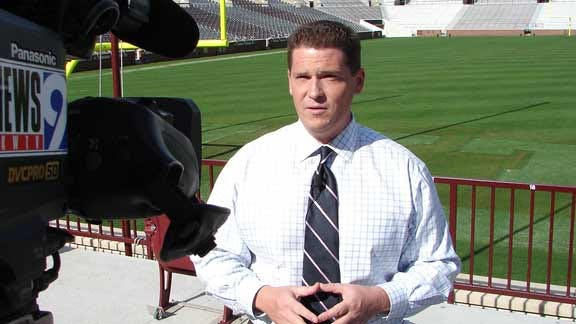 Toby Rowland Reacts to Being Named New Voice of the Sooners