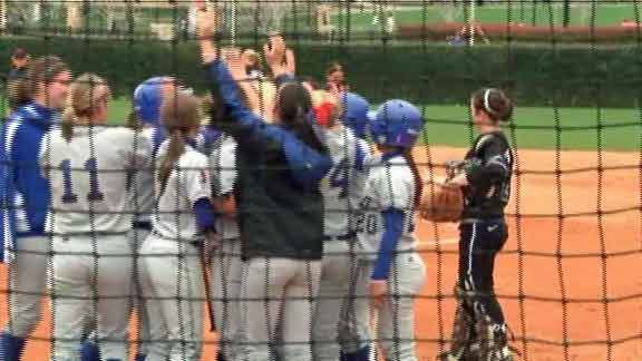 TU Softball Wins With Walkoff in Ninth Inning