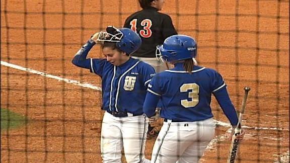 Tulsa Softball Completes Sweep With Blowout of Marshall