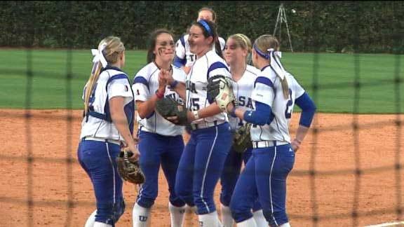 Tulsa Softball Splits Doubleheader With East Carolina