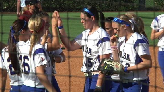 Tulsa Softball Takes Down Marshall in Five Innings