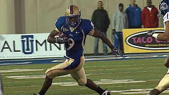 Tulsa's Charles Clay to Play in Senior Bowl