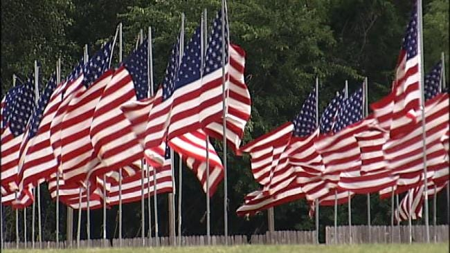 Broken Arrow Cemetery Honors Veterans With Avenue Of Flags