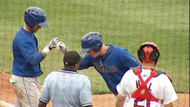 Drillers Knock off Rockhounds in Series Finale