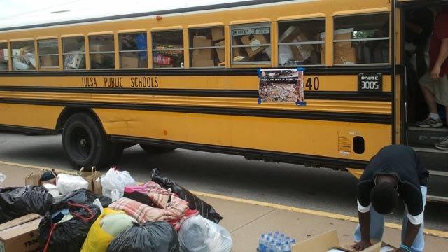 Oklahomans Send Supplies, Volunteers To Aid In Joplin Relief