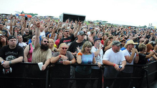 Thousands Descend On Pryor For Rocklahoma