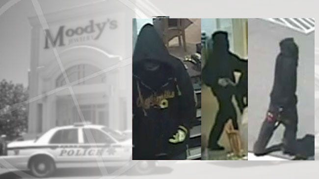 Tulsa Police Release Images Of Moody's Robbery