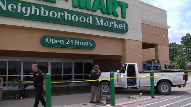 Customers Rattled When Gunman Opens Fire Inside Tulsa Walmart