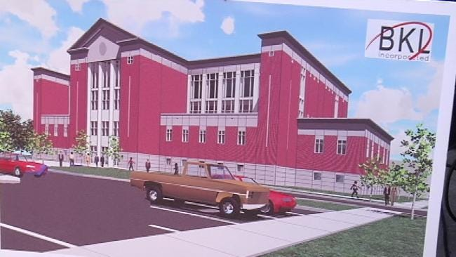 Groundbreaking Ceremony Held For New Rogers County Courthouse