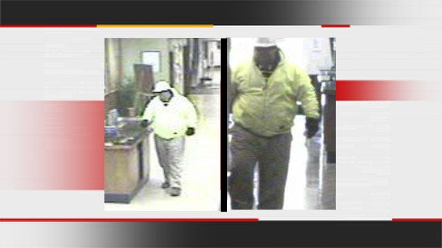 Police Looking For West Tulsa Bank Robber