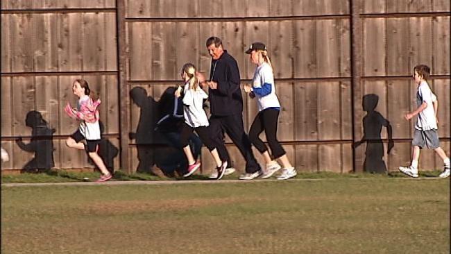 Walking & Running, Tulsa Elementary School Reaches Milestone