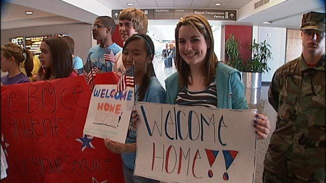 Green Country Heroes Welcomed Home From Afghanistan