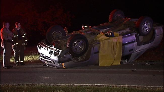 Tulsa Driver Killed In One-Vehicle Crash Friday Morning Identified