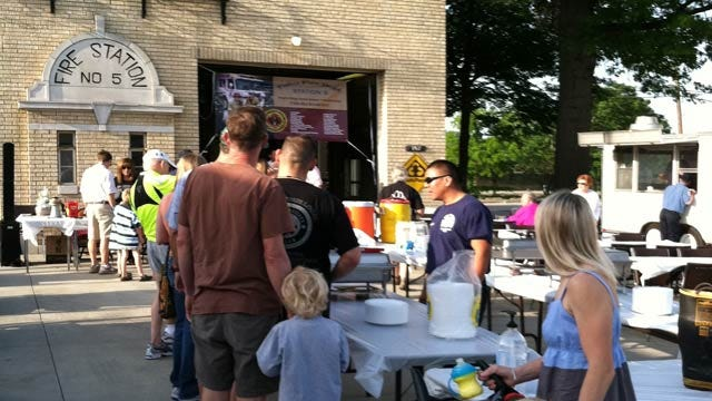 Family Event At Tulsa Fire Station Raises Funds For Burn Camp