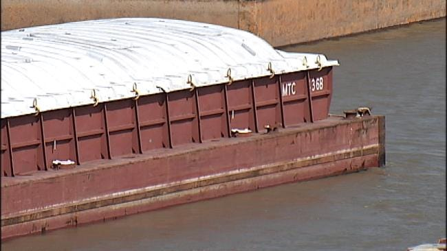 Mississippi River Flooding Affecting Port Of Catoosa Operations
