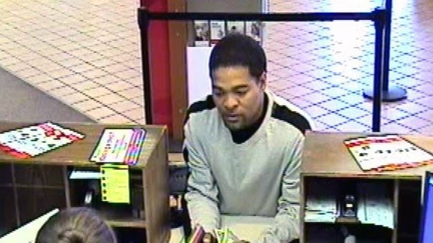 Catoosa Police Look For Bank Robber