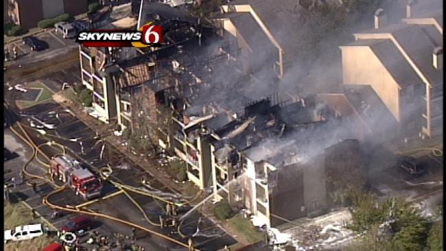 Dozens Of Families Remain Homeless After Tulsa Apartment Fire