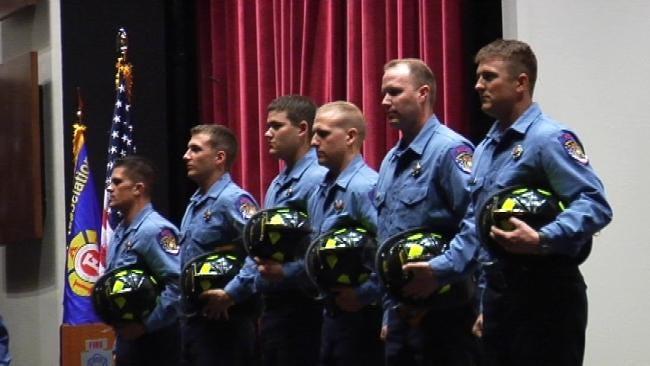 Broken Arrow Graduates 12 New Firefighters