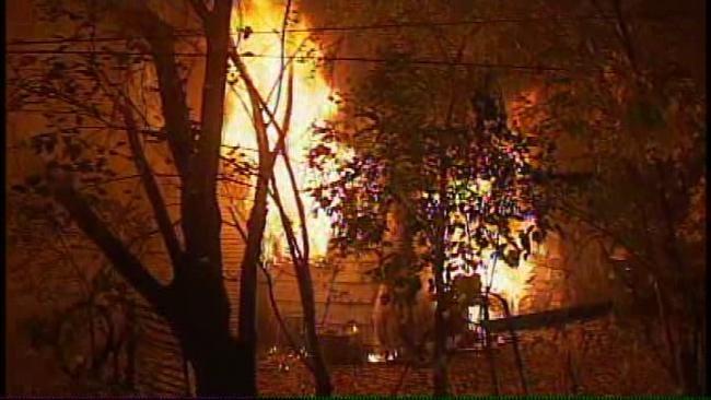 Neighbors Horrified As 15-Month-Old Boy Dies In West Tulsa Duplex Fire