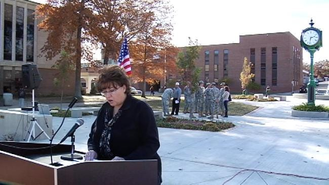 A Somber Roll Call: Tahlequah Recognizes Fallen Service Members