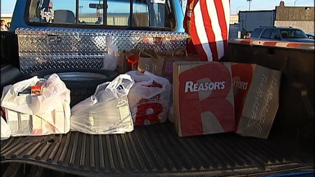 Claremore Teen Starts Project To Help Veterans' Families