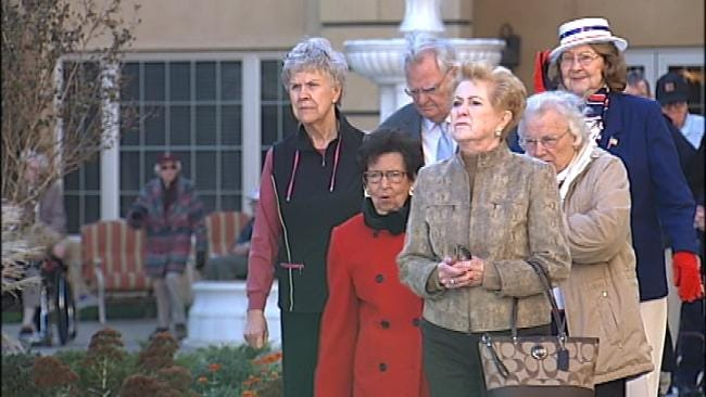 Tulsa Retirement Community Dedicates Tribute To Veterans