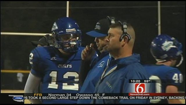 Berryhill Shuts Down Sequoyah-Tahlequah's Offense