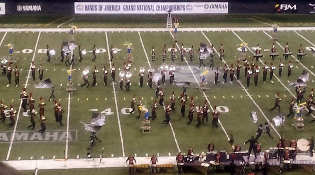 Pride Of Broken Arrow Wins Bands Of America Competition