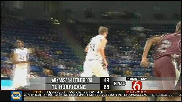 Tulsa Men Start Season With 65-49 Win