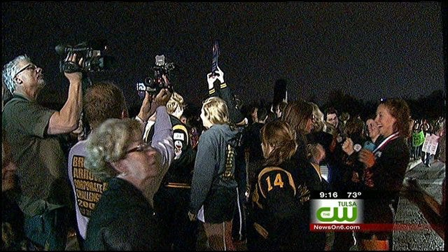 Broken Arrow High School Band Returns Home A Winner From National Competition