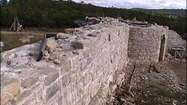 13th Century French Castle Slowly Rises In Arkansas